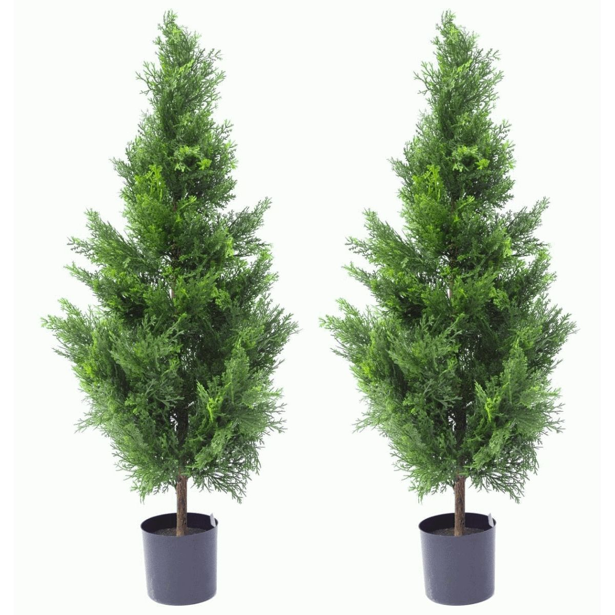 Artificial Cedar Topiary Trees 90cm