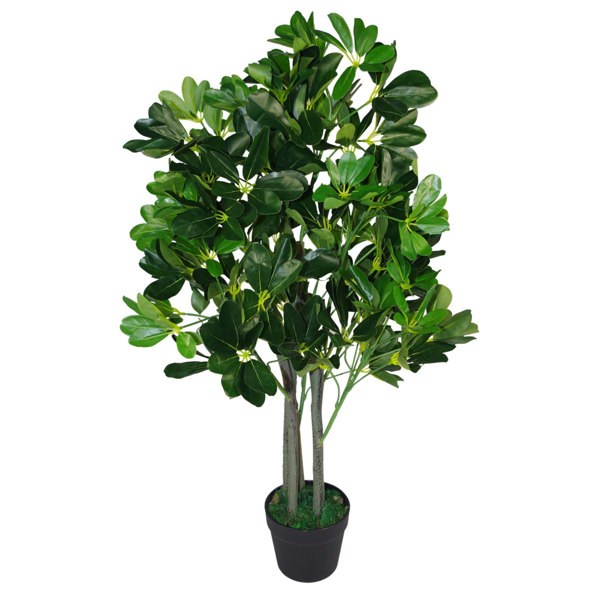 Artificial Trees Plants: 95cm Umbrella Tree Dark Green