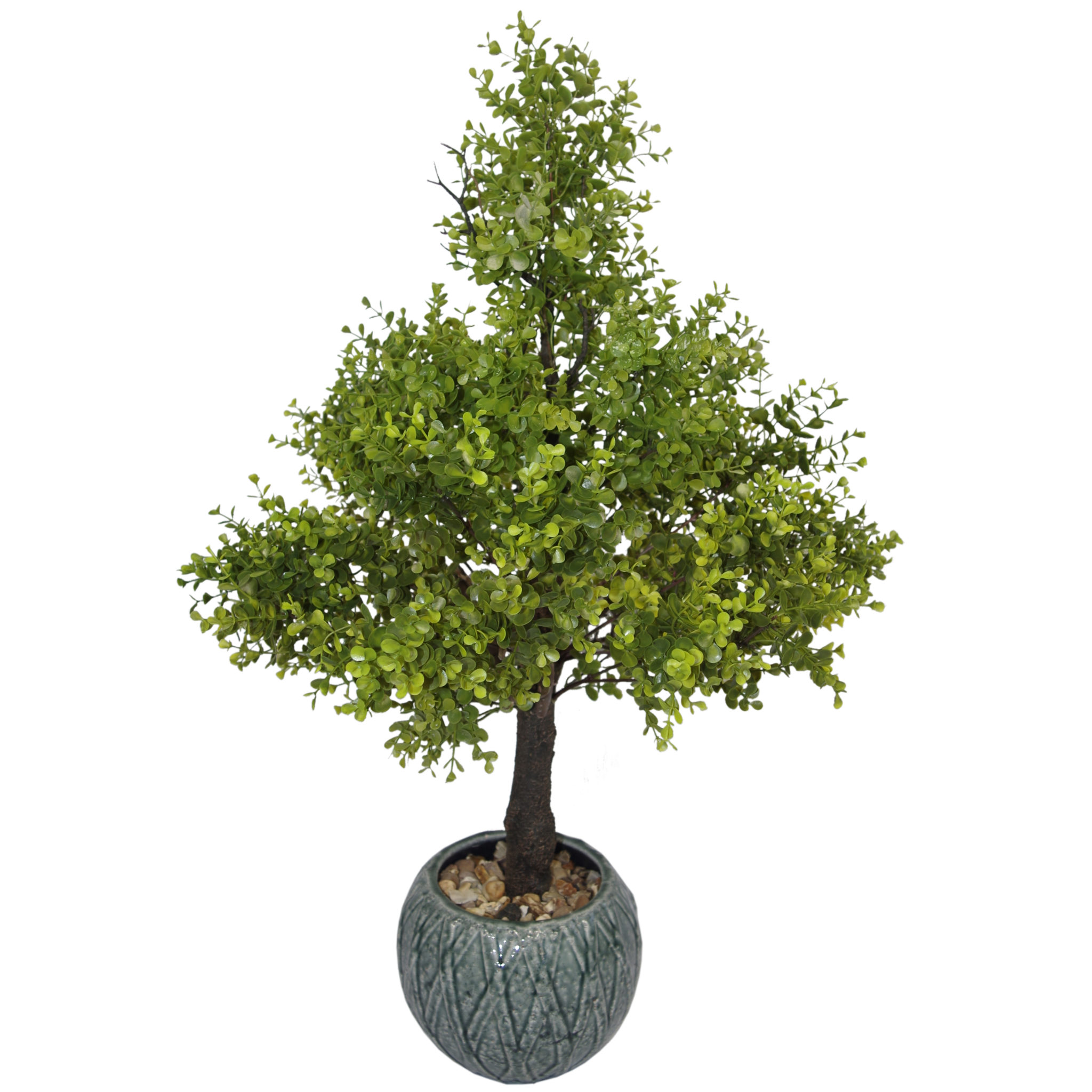 80cm artificial boxwood topiary tree without pot large. Black Bedroom Furniture Sets. Home Design Ideas